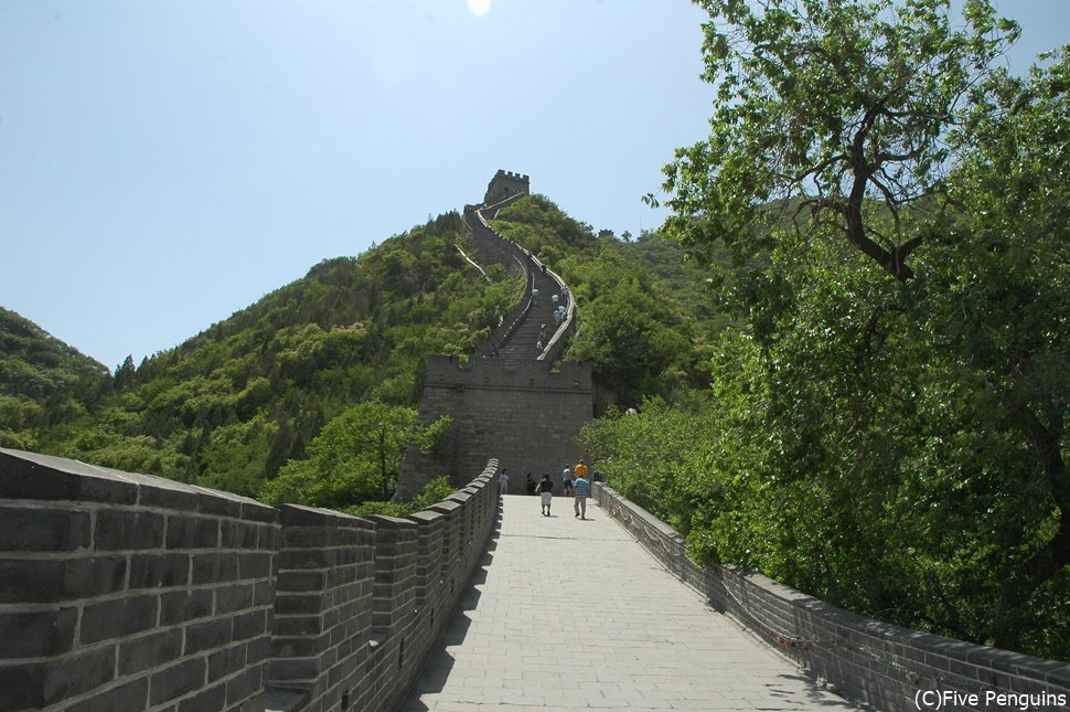 どこまでも続く万里の長城は中国の歴史を見守ってきた