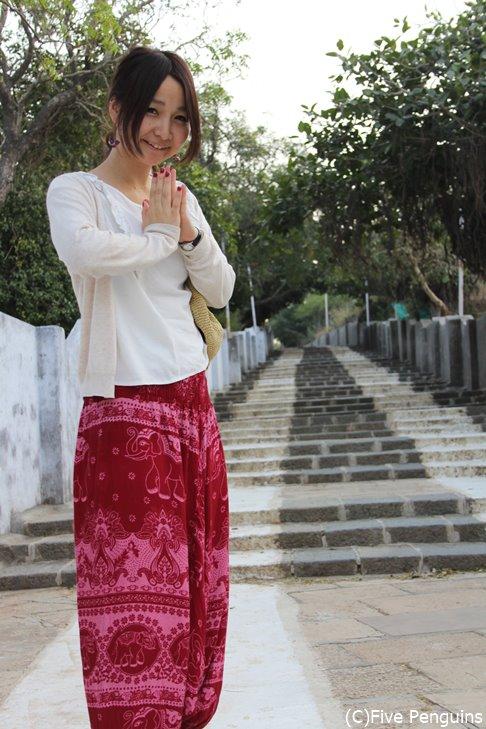 タイパンツはアジアの旅には欠かせません!