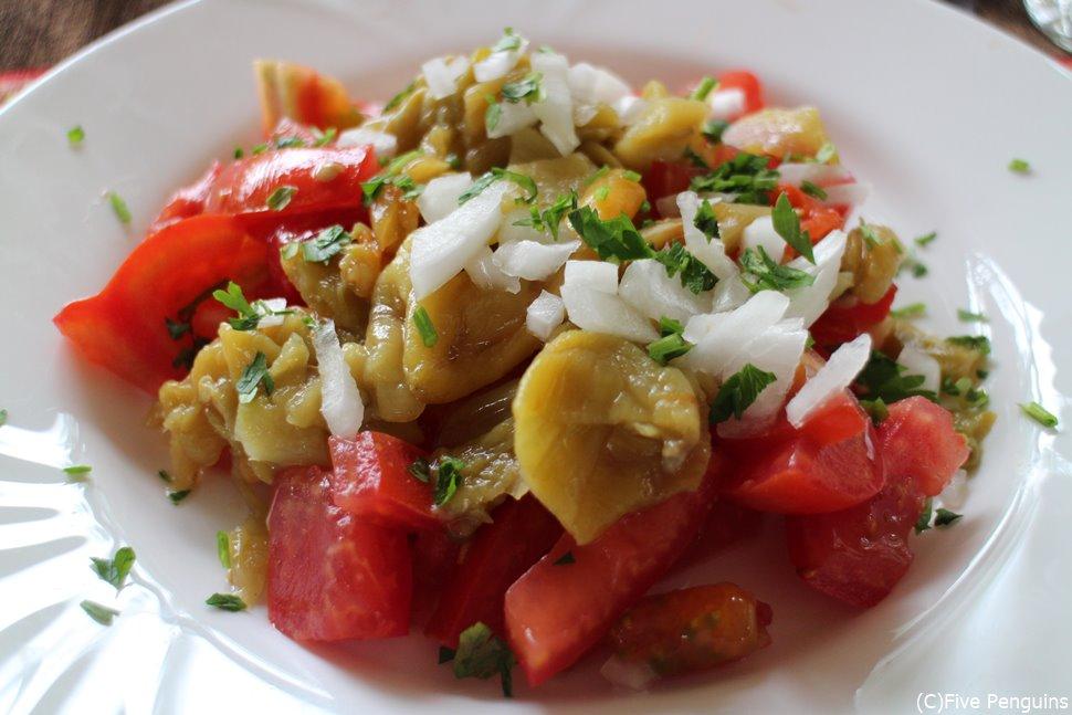 トマトが美味しいマケドニアンサラダ