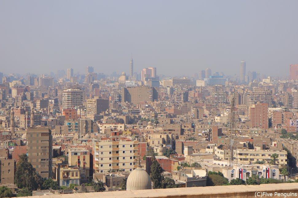 写真は現代のカイロの眺め。古代の眺めと見比べてみたい