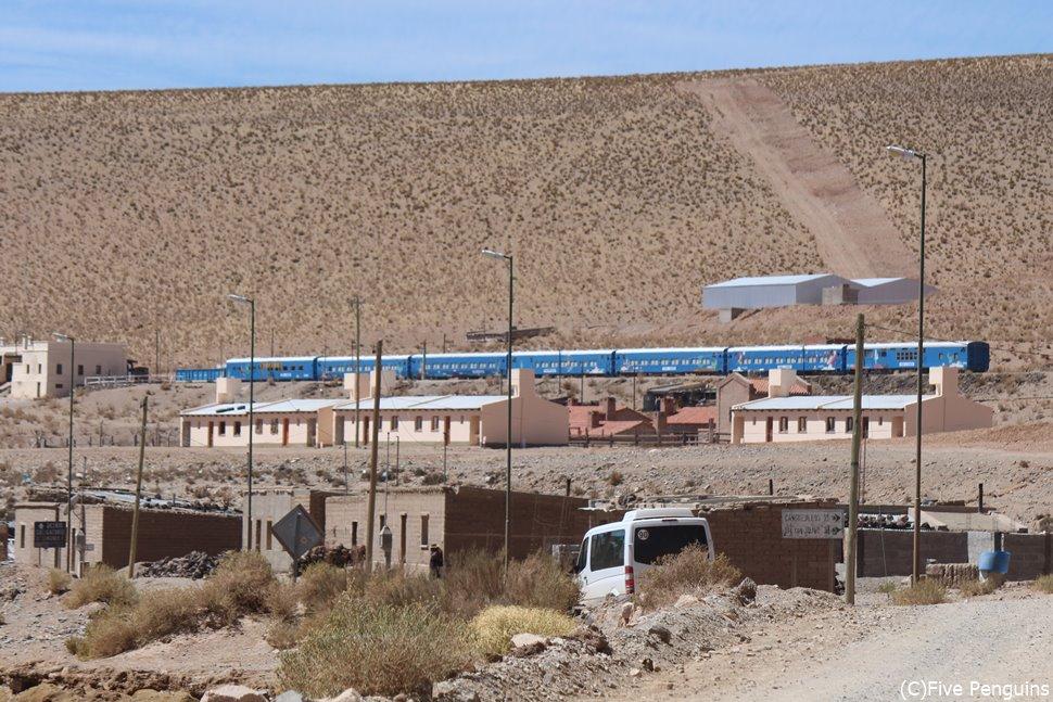 雲の列車<サンアントニオデコブレス>