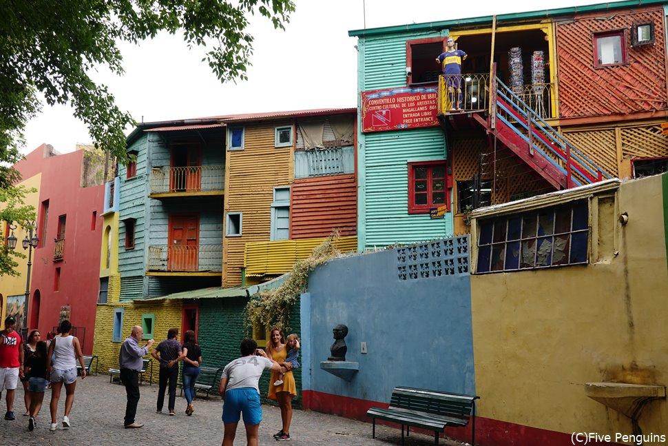 ボカ地区 カラフルなカミニート<ブエノスアイレス>