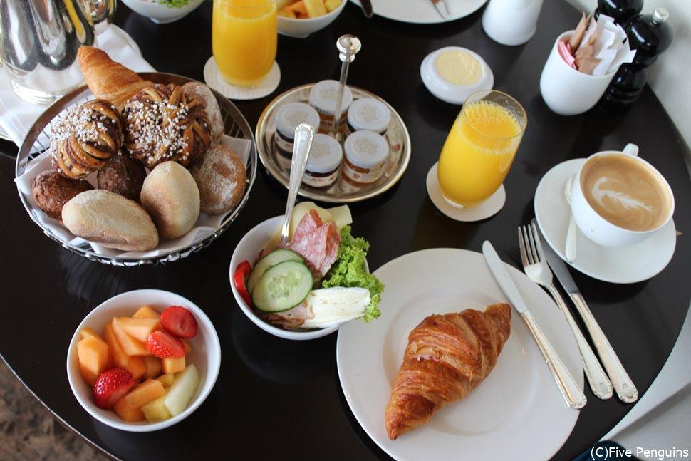 朝食も美味しいビュッフェ
