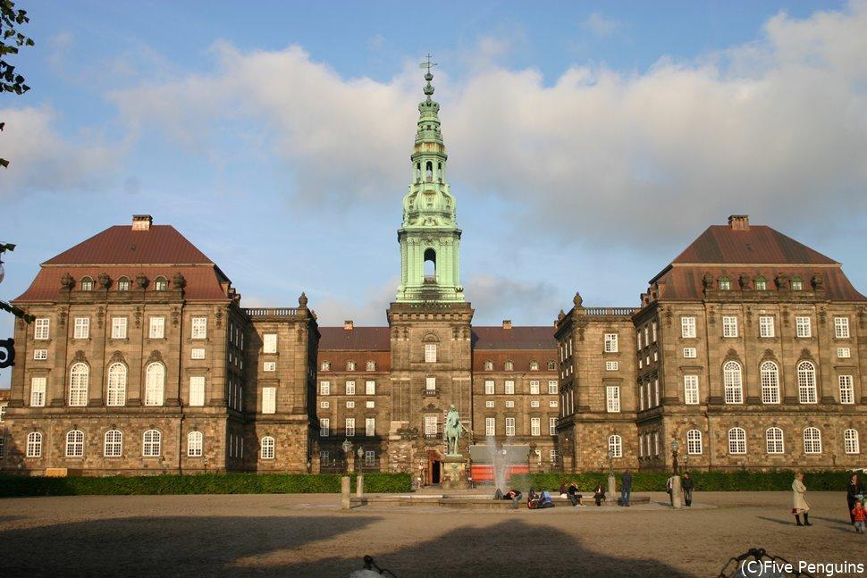 コペンハーゲンの歴史を見てきた、クリスチャンボー城
