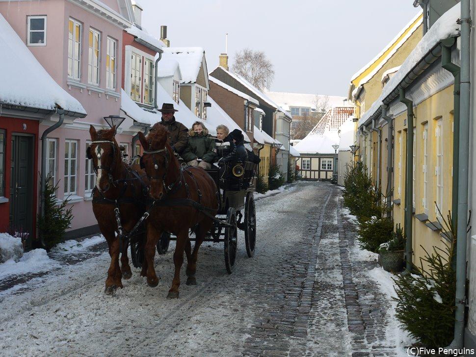 アンデルセンの故郷、可愛らしいオーデンセの町並み