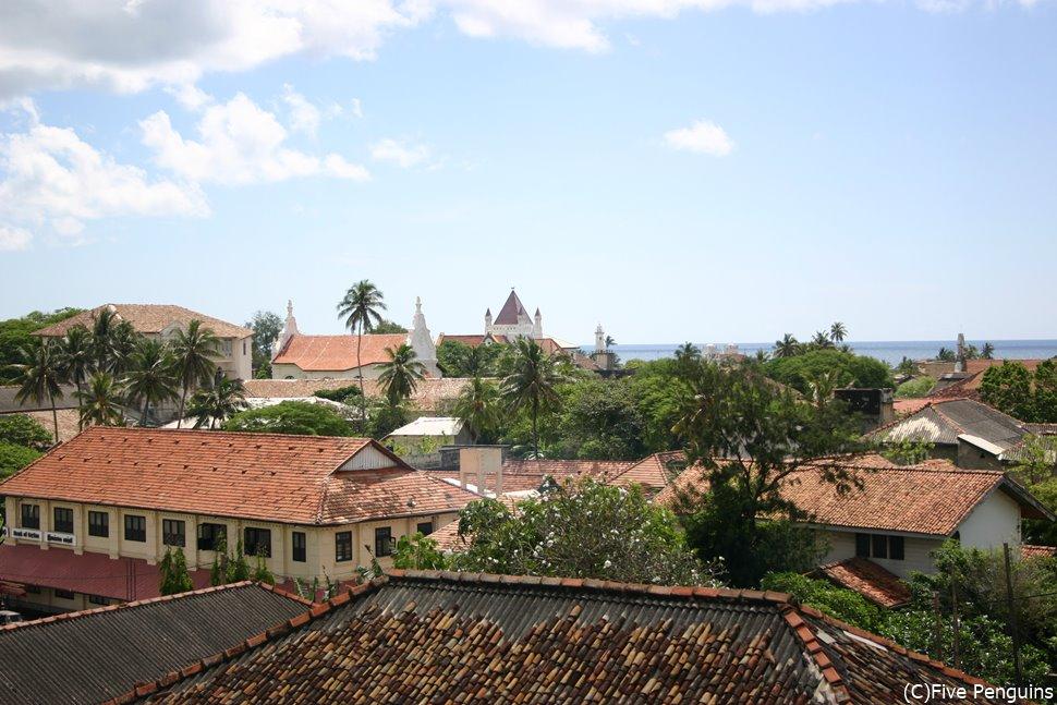 コロニアルな街並みが広がる世界遺産の町、ゴール