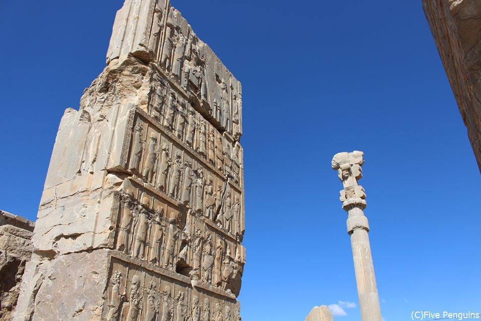 ペルセポリス遺跡/百柱の間の門