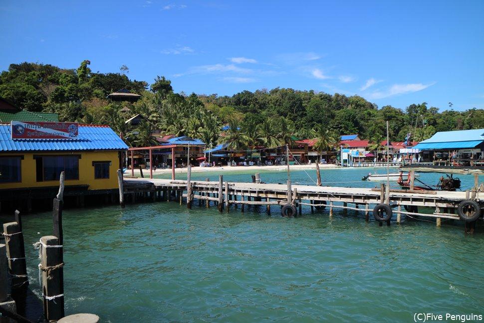船乗り場(ロン島)