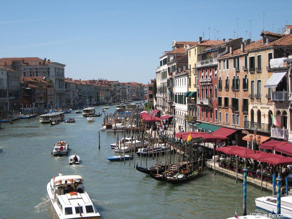 水の都ベネチア(ベニス)の美しい景色
