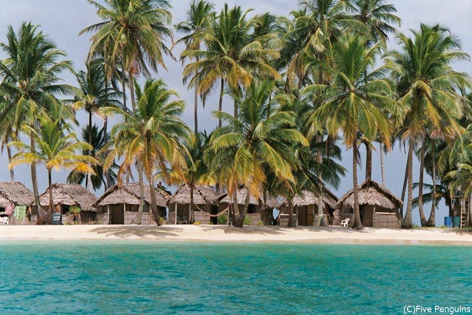 知る人ぞ知る絶景ビーチが広がる(サンブラス諸島)