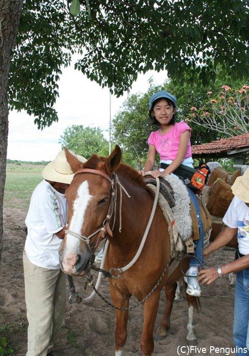 パンタナールで2時間の乗馬体験!