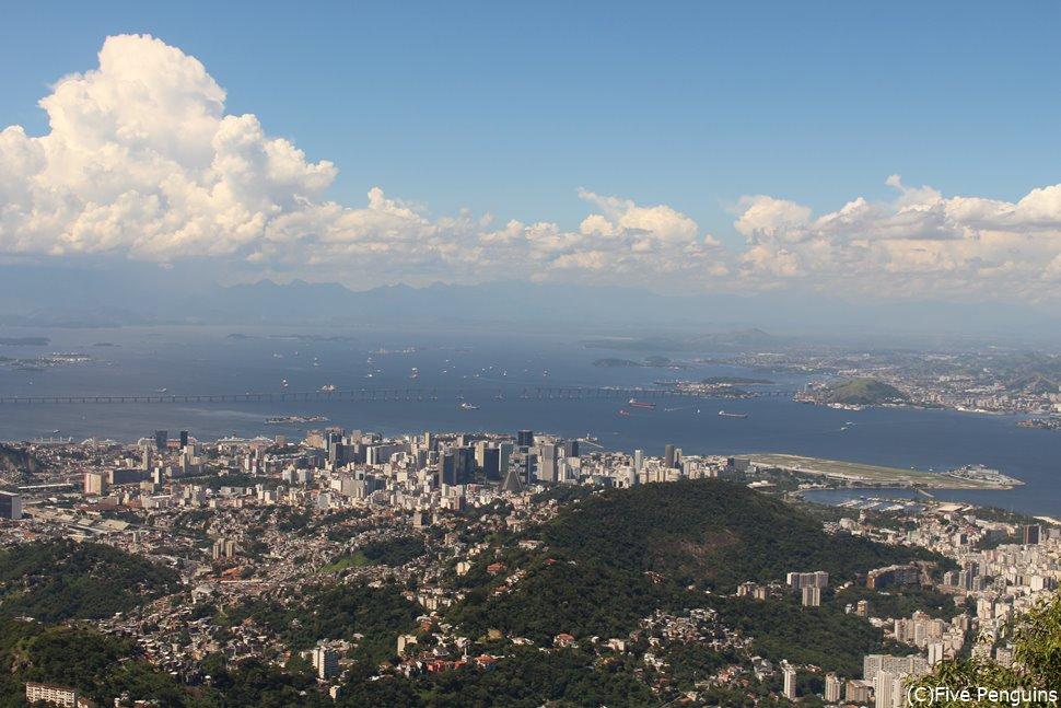 コルコバードの丘からの眺めは最高