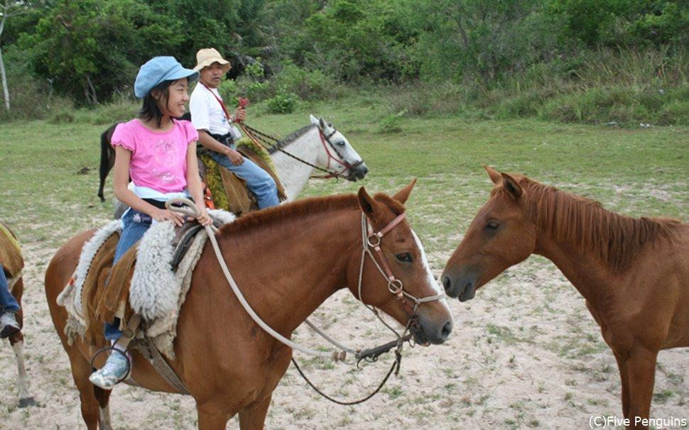パンタナールの広大な土地で乗馬体験!なんとも贅沢!