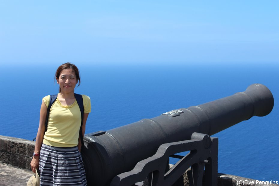 ブリムストーンヒル要塞にて海と空の境目がたまりません