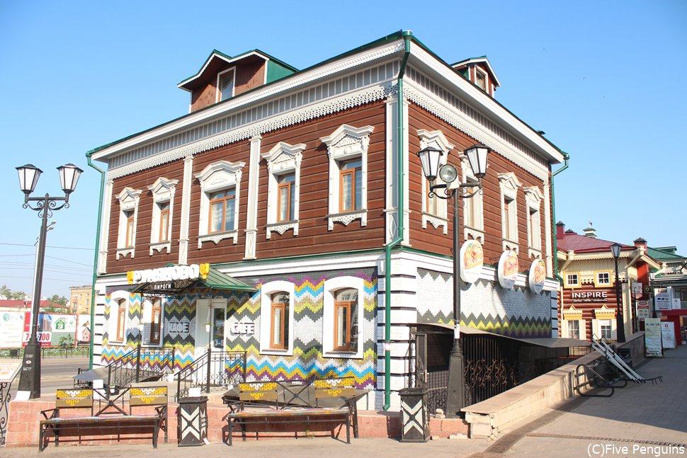 旧市街の雰囲気を再現した130地区