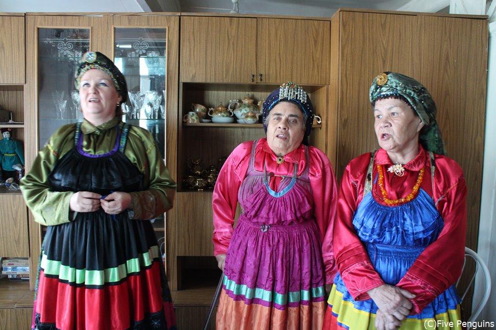 古儀式派セメイスキエ/伝統的な歌<ウランウデ郊外>