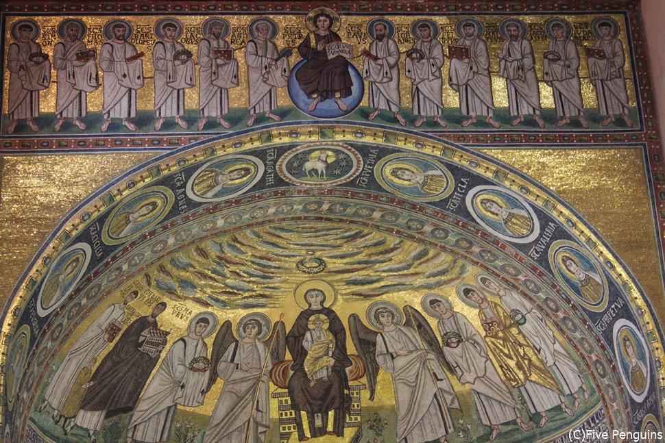 エウフラシウス聖堂のモザイク画