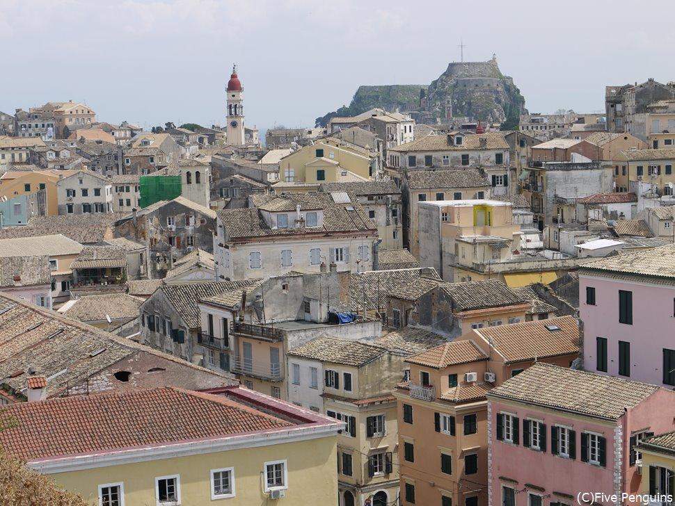 ネオ・フルリオ(新要塞)から見た旧市街