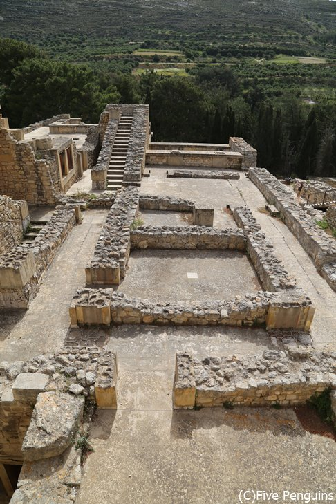 クノッソス宮殿跡