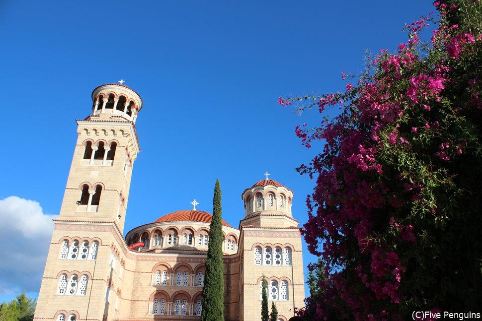 エギナ島の聖ネクタリオス修道院