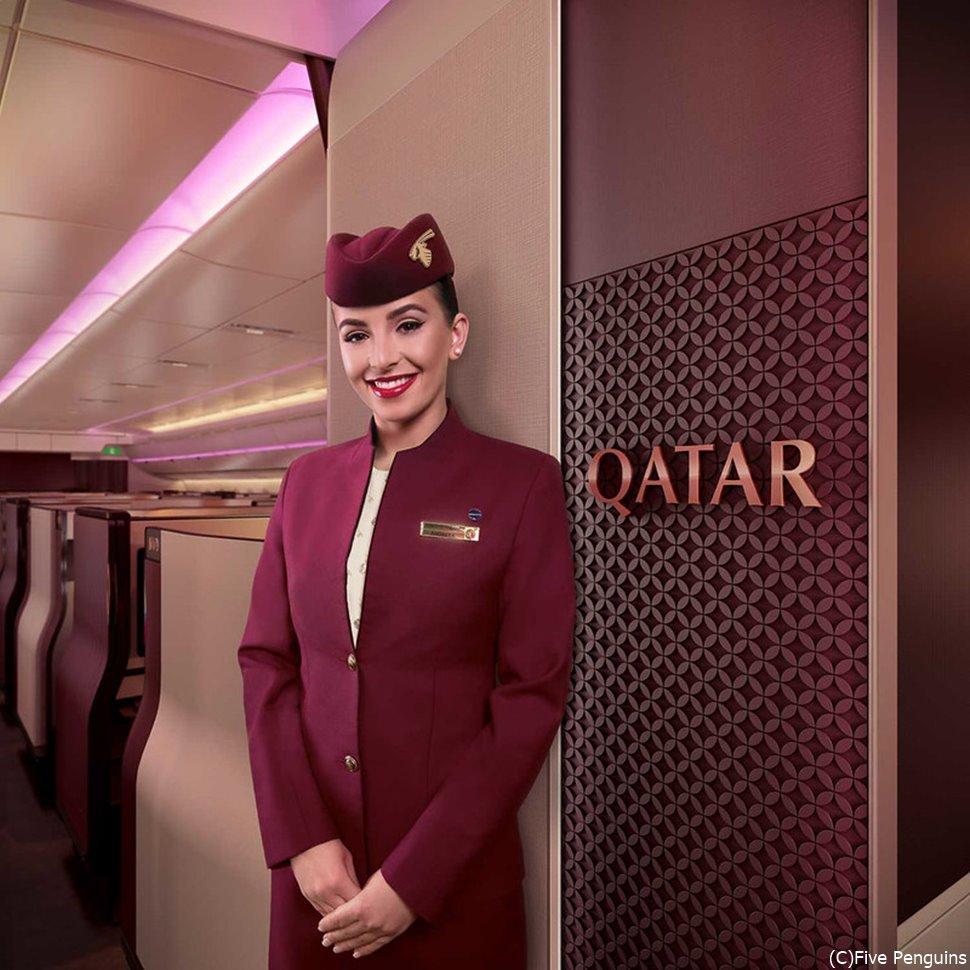カタール航空・客室乗務員