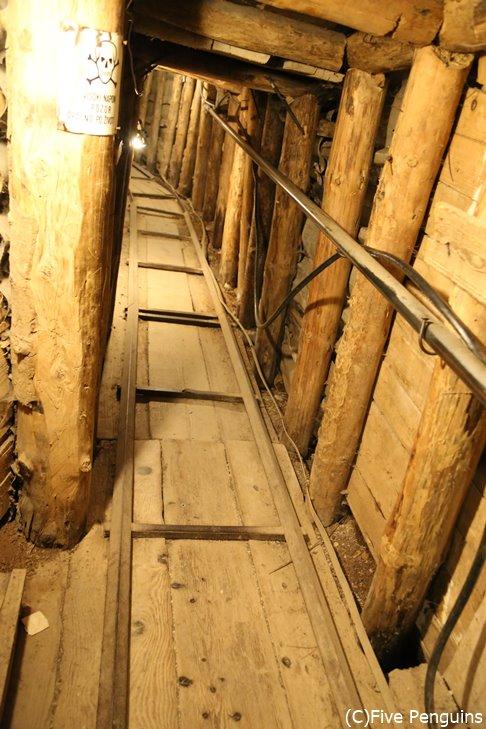 トンネル博物館として保存されている