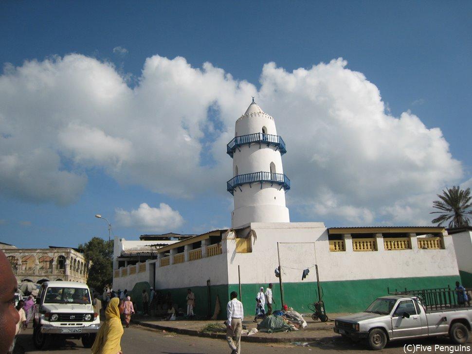 イスラム教徒にとって欠かせないモスク