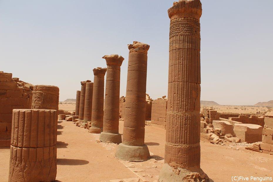 ムサワラット遺跡<スーダン>