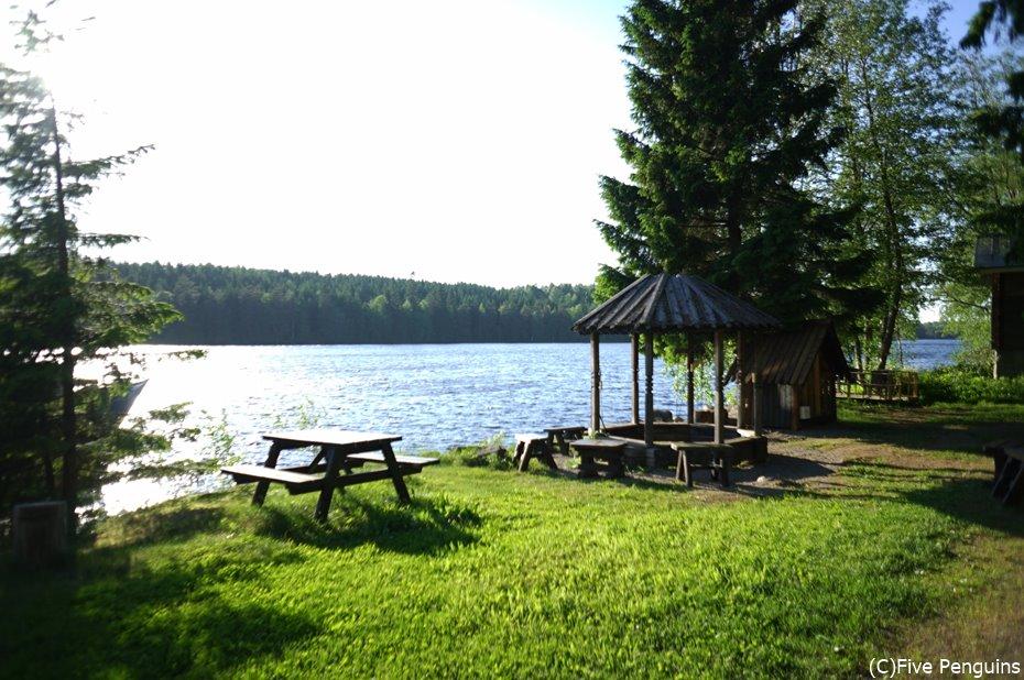 スウェーデンの湖畔 ティーナが出てきそう・・・。