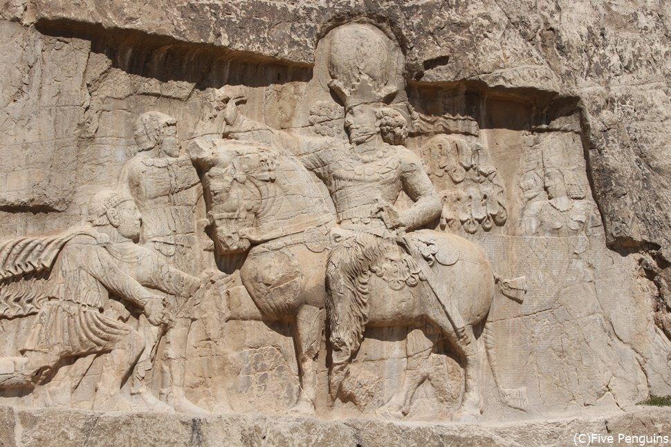 イランのナグジェロスタムにあるアケメネス朝歴代大王の墓
