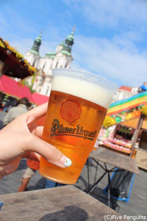 呑んべぇ女子には堪らない、ビール大国チェコ