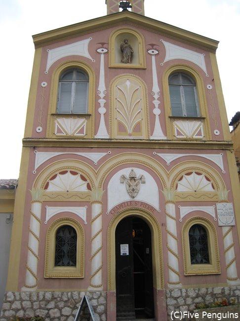 サンピエール礼拝堂の外観