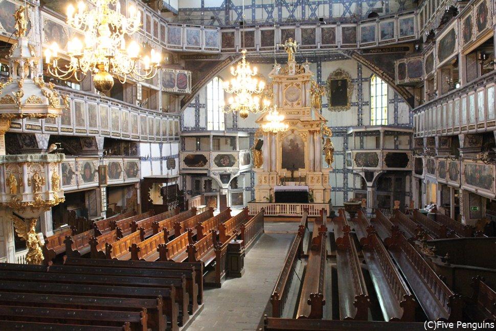 ヴロツワフ郊外のヤヴォル平和教会