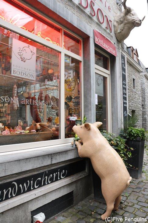 小さな町のお肉屋さん
