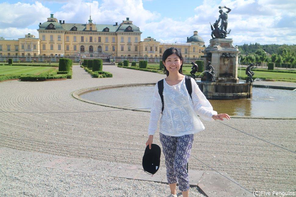 スウェーデン王家の由緒ある雰囲気を感じられます