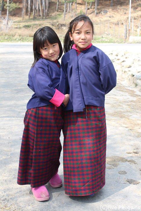 民族衣装はブータンの心