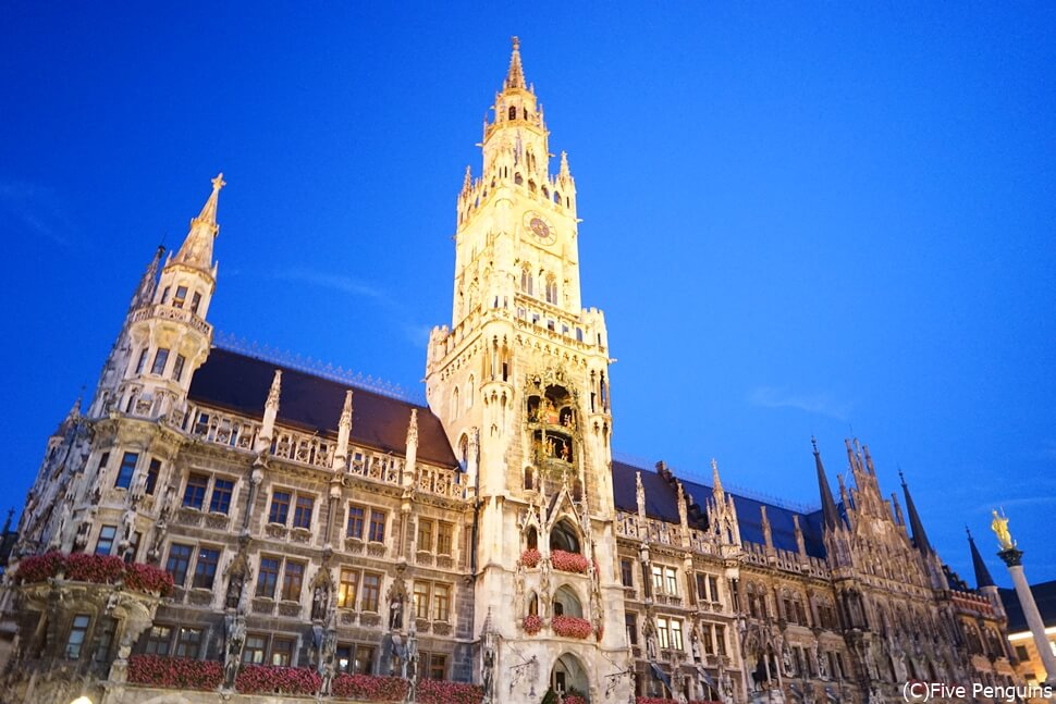 同じヨーロッパでも周遊できない国も 写真はミュンヘンの市庁舎