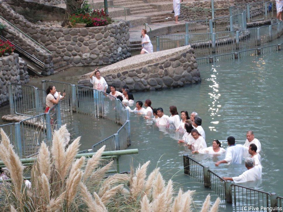 ヤルデニット/ヨルダン川の洗礼ポイント