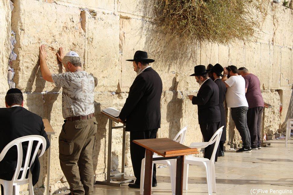 ユダヤ教の聖地である嘆きの壁