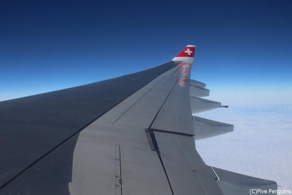 うれしい直行便 スイスエアラインズ