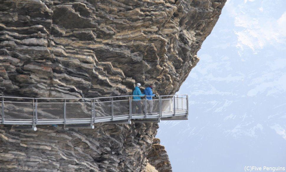 グリンデルワルト 断崖絶壁クリフウォーク