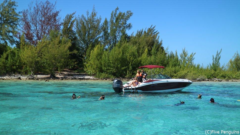 ラグーン巡りが楽しいボラボラ島
