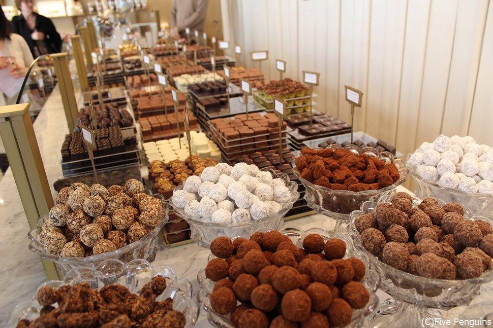 王室ご用達チョコレート店MARY