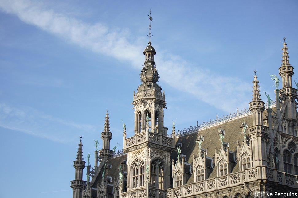 「世界で最も美しい広場」とも称されるグラン・プラス