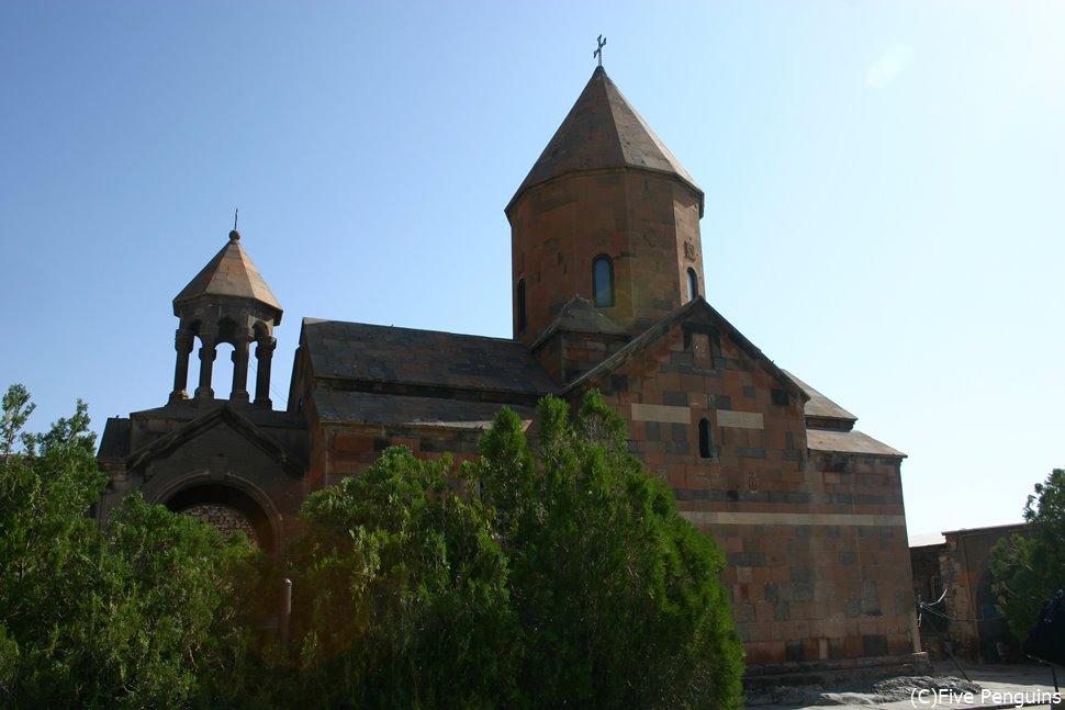 ホルヴィラップ修道院 その先はすぐトルコ領になる
