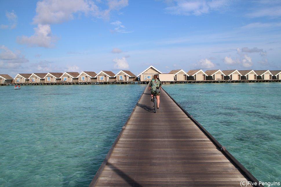 アリ環礁のラグジュアリーリゾート・ラックスサウスアリアトール水上ヴィラ