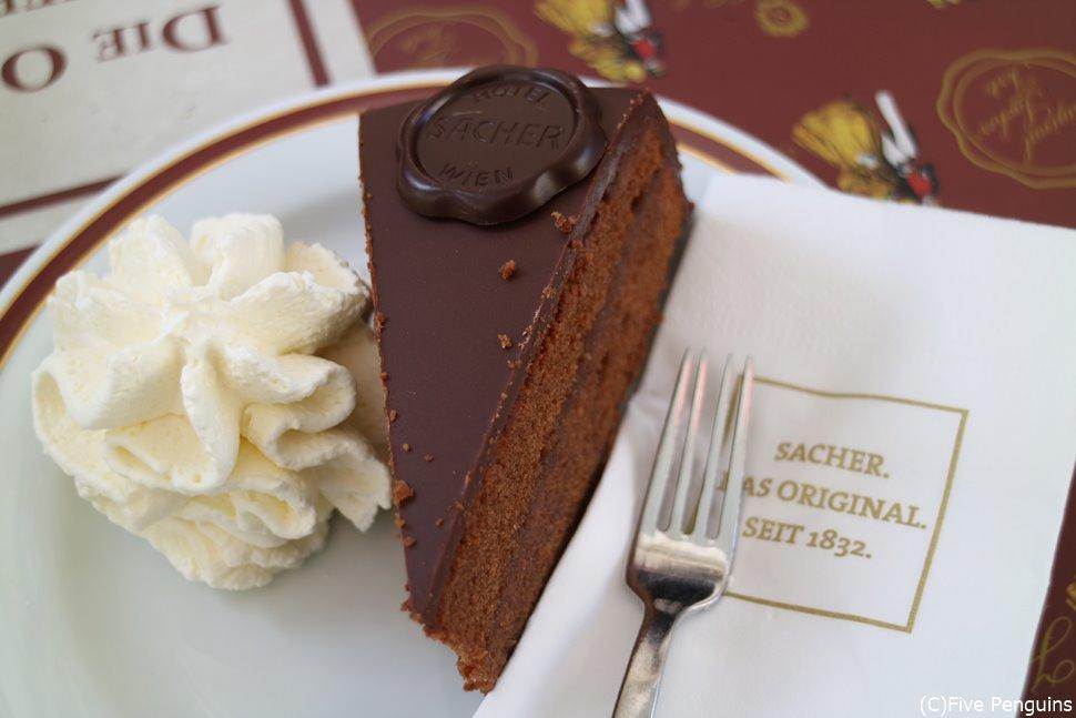 ザッハトルテはウィーンのスィーツの定番中の定番