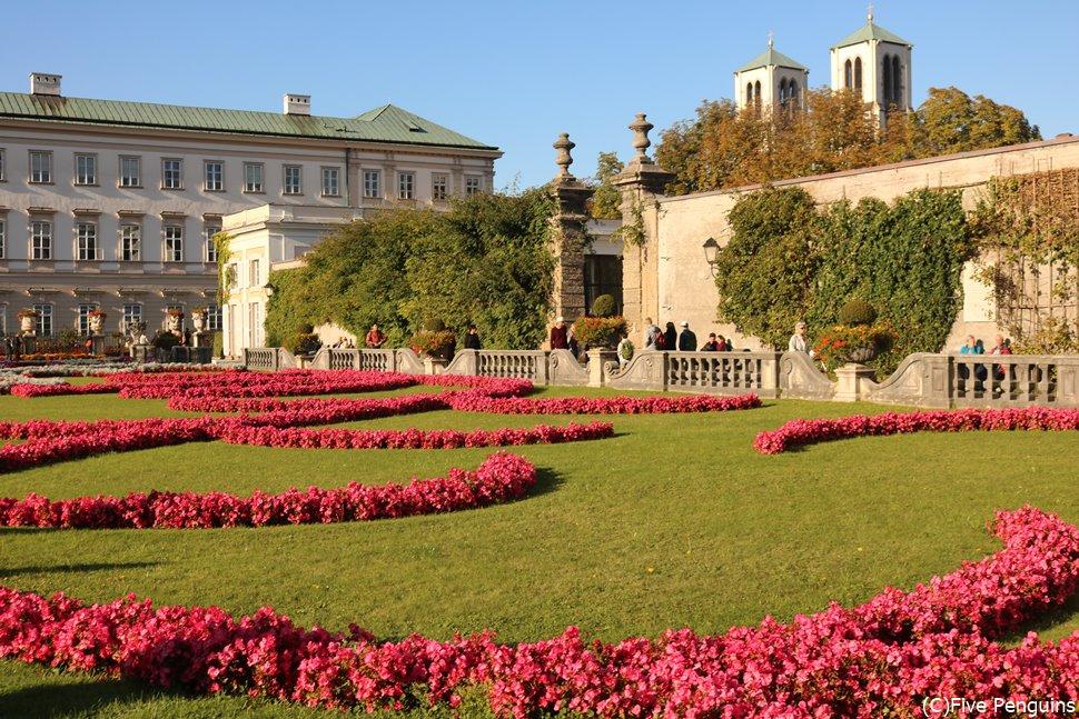 ミラベル庭園(ザルツブルク)