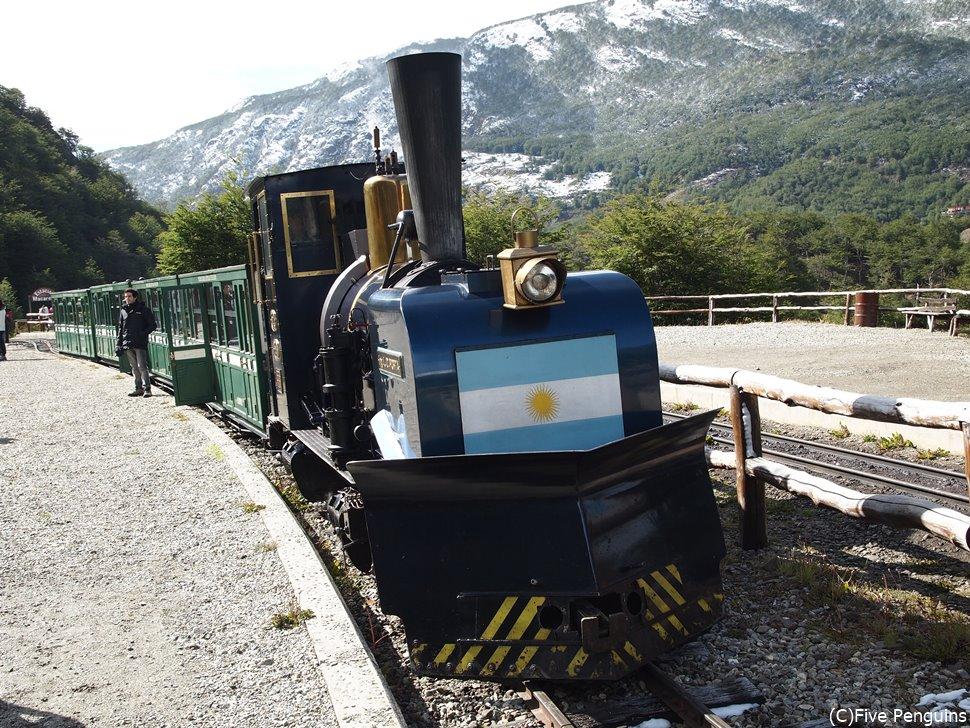 列車「世界の果て号」(ティエラ・デル・フエゴ国立公園)