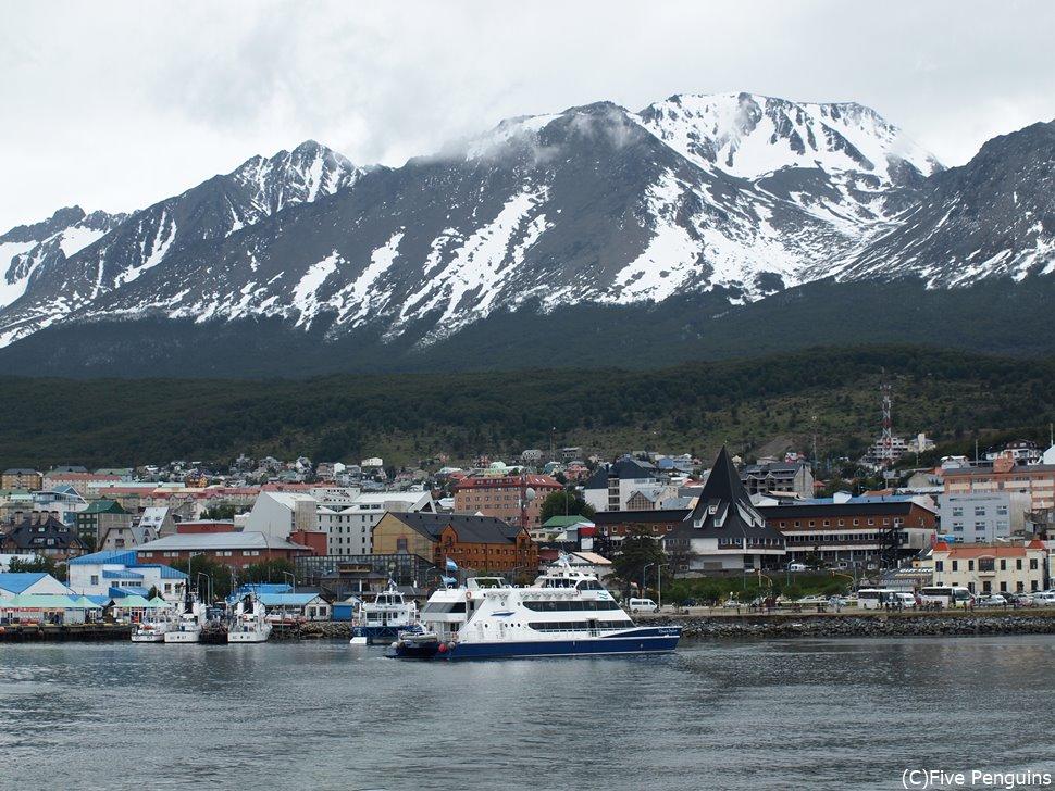 南米最南端の町「ウシュアイア」は夏でも寒々しいのです。